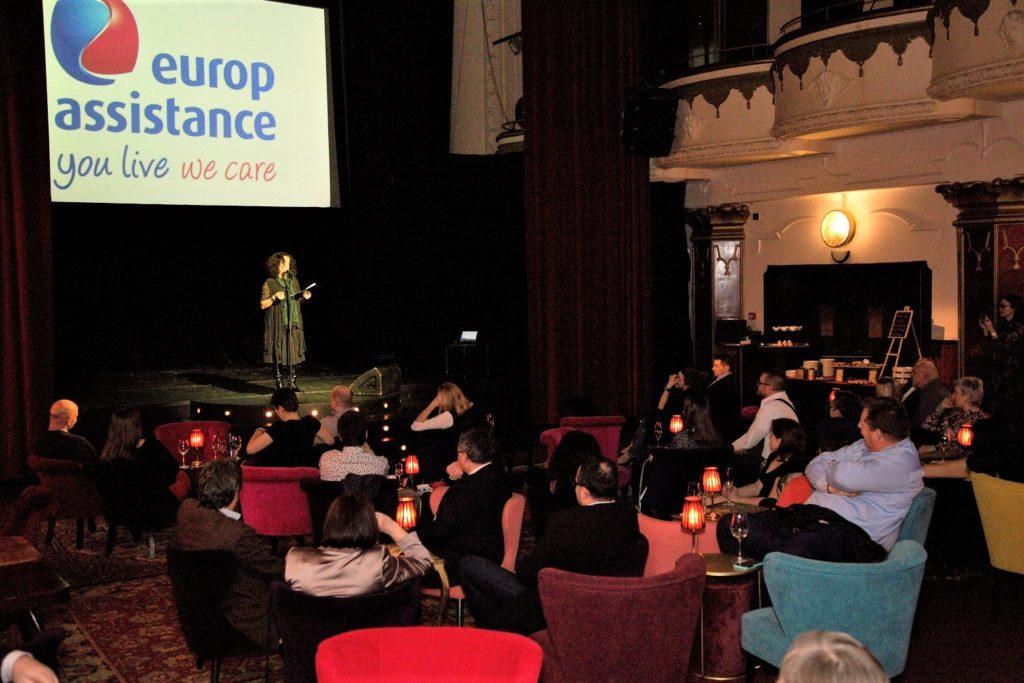 Novoroční akce - stand up - Europ Assistance